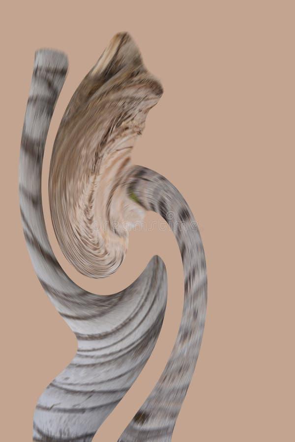 Vaag abstract cijfer stock afbeeldingen