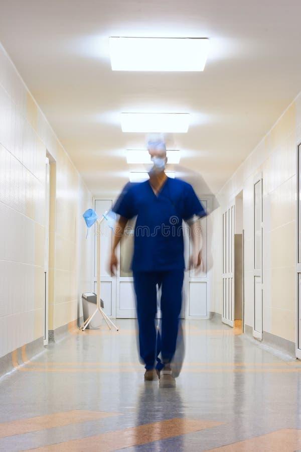 Vaag in motie arts stock afbeeldingen