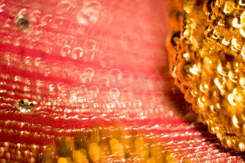 Vaag Roze en Goud royalty-vrije stock fotografie