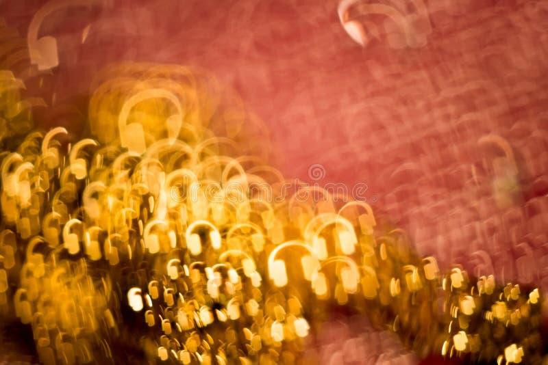 Vaag Roze en Goud stock foto's