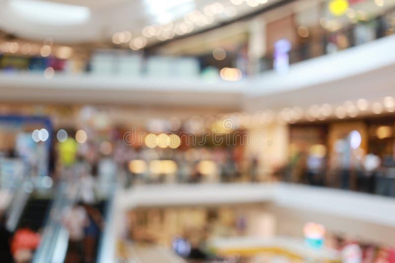 Vaag winkelcomplex of onduidelijk warenhuis royalty-vrije stock foto's