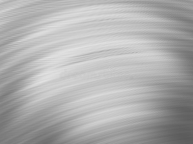 Vaag zwart-wit ongebruikelijk illustratiemalplaatje vector illustratie