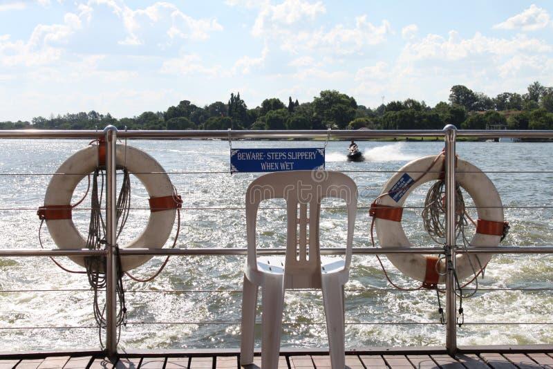 Vaal-Fluss Südafrika stockbild