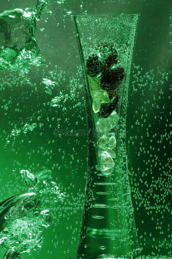 Vaas in Groen Water royalty-vrije stock fotografie