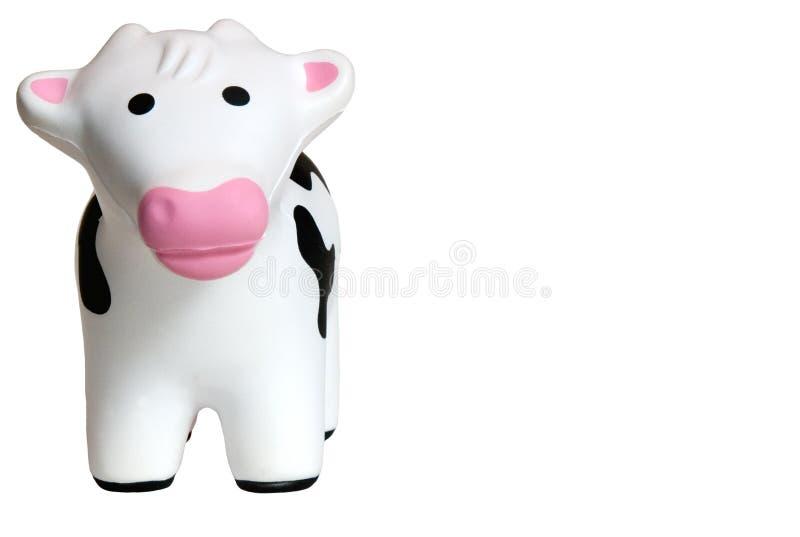 Vaca 1 del juguete imagenes de archivo