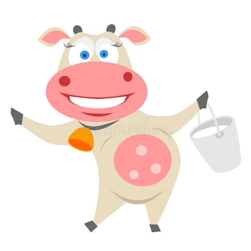 Vaca ilustração do vetor