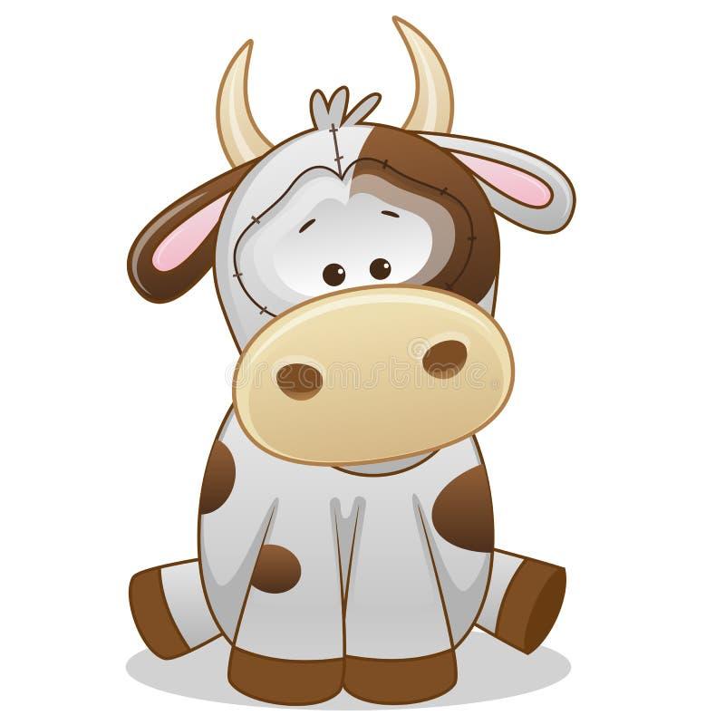 Vaca ilustración del vector
