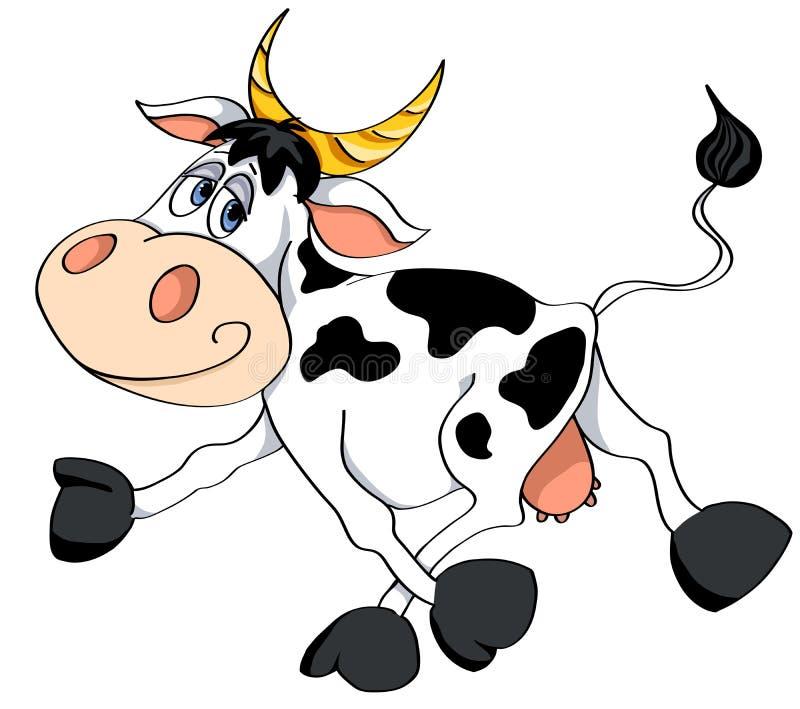 Vaca blanca. libre illustration