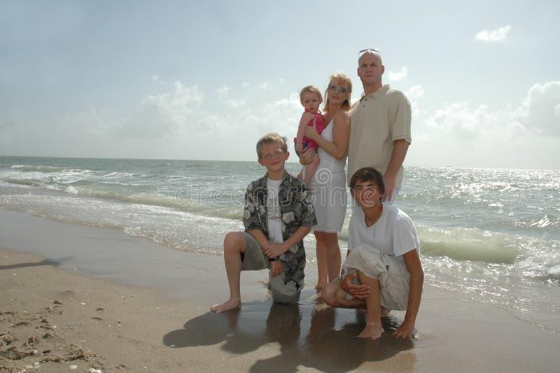 Vacaciones de familia foto de archivo