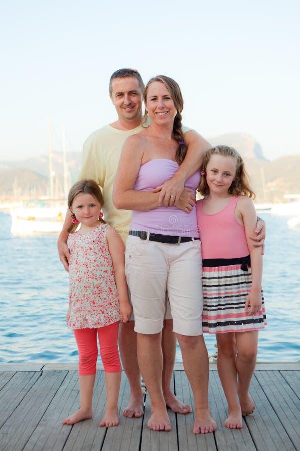 Vacaciones de familia imágenes de archivo libres de regalías