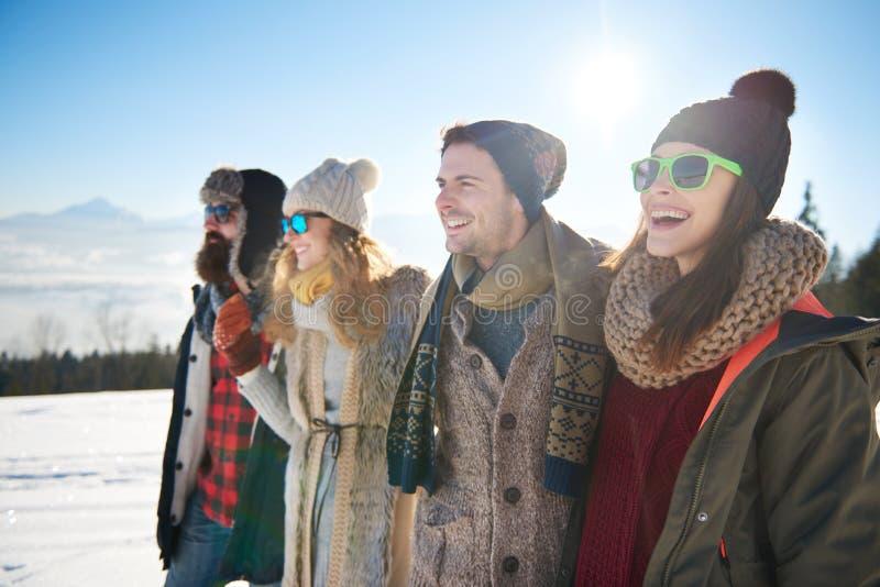Vacaciones de invierno imagenes de archivo