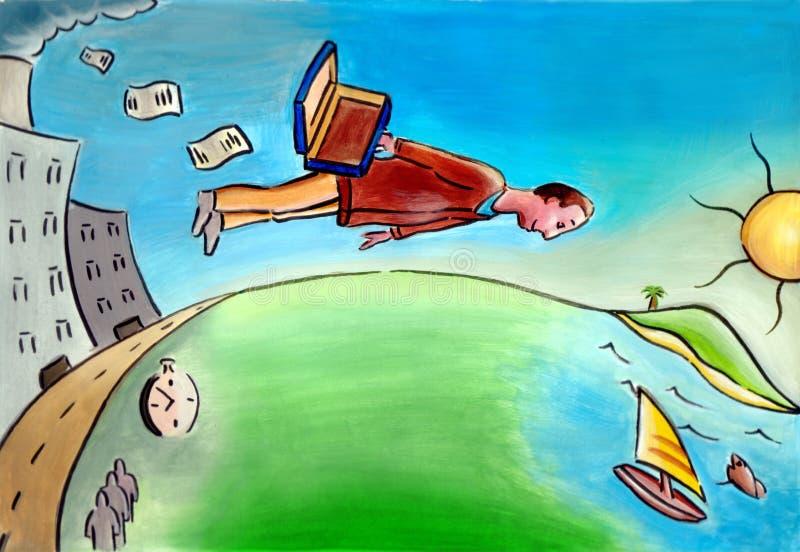 Download Vacaciones de verano stock de ilustración. Ilustración de isla - 185395