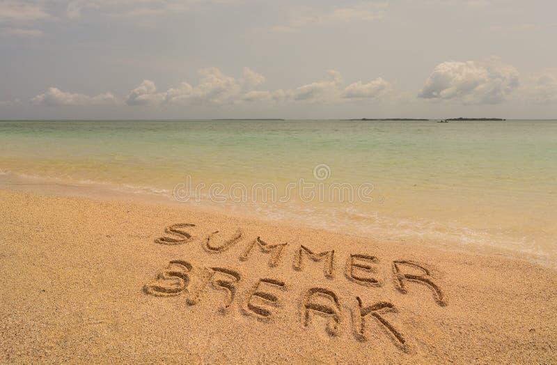 Vacaciones de verano foto de archivo