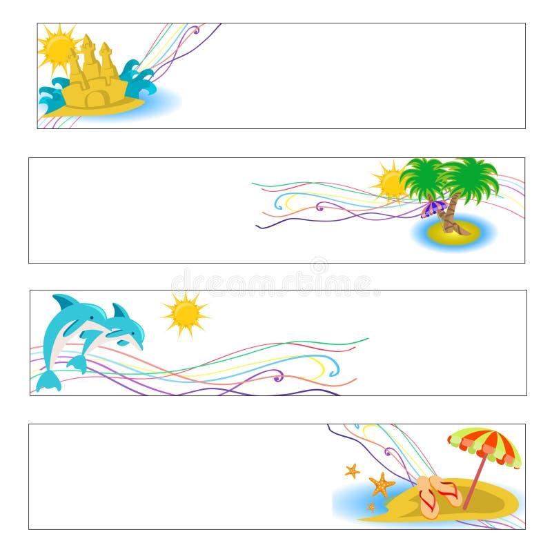 Vacaciones de verano libre illustration
