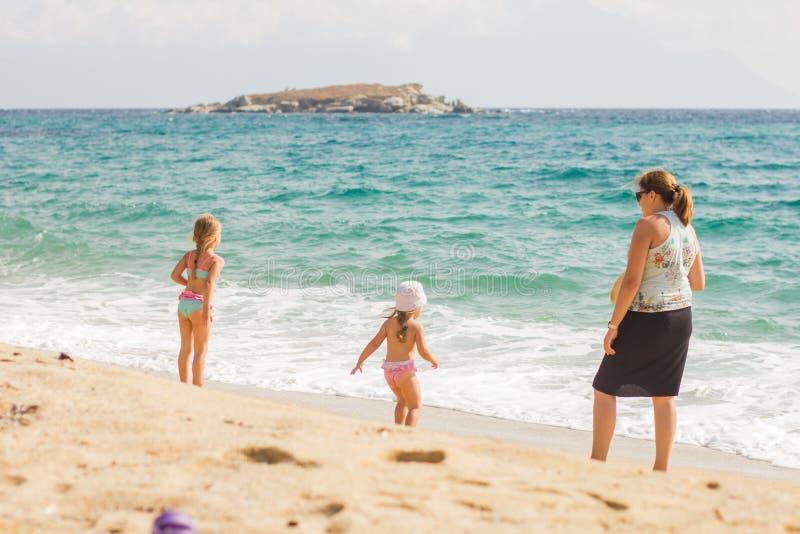 Vacaciones de verano de la familia fotos de archivo libres de regalías