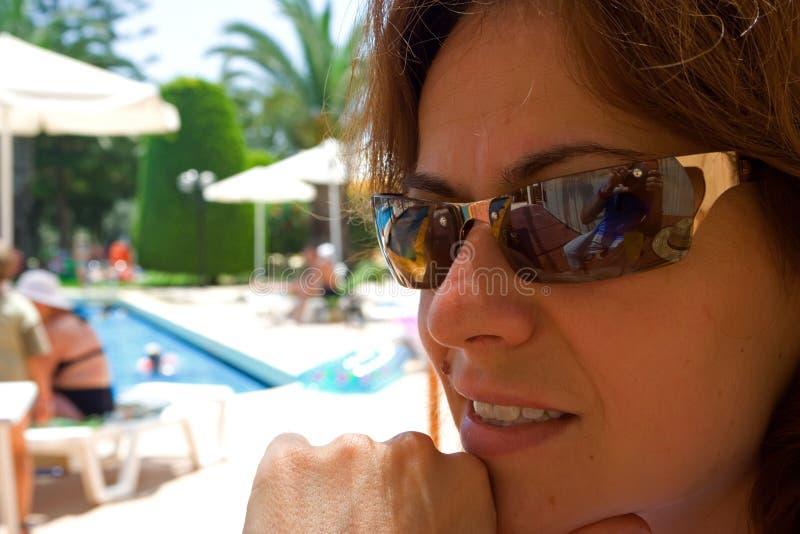 Vacaciones de verano felices foto de archivo