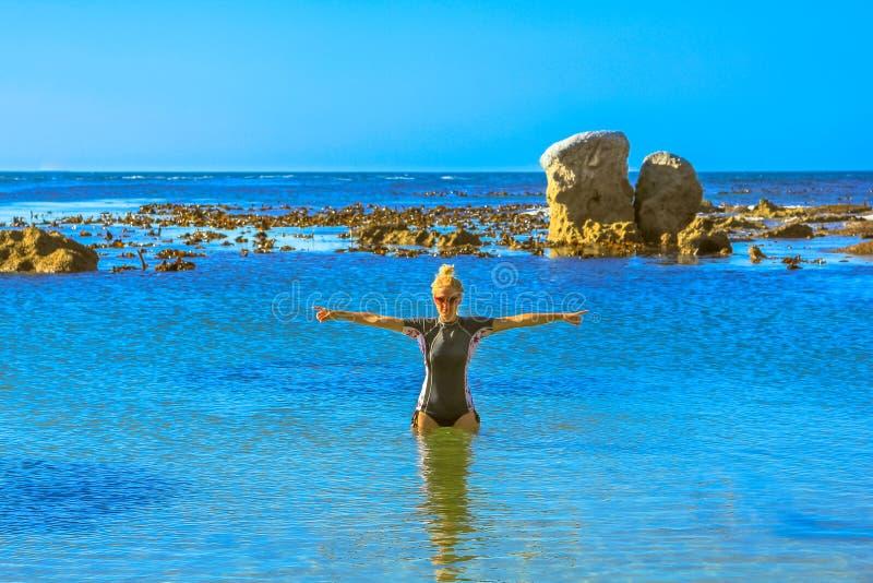 Vacaciones de verano de Suráfrica imagen de archivo