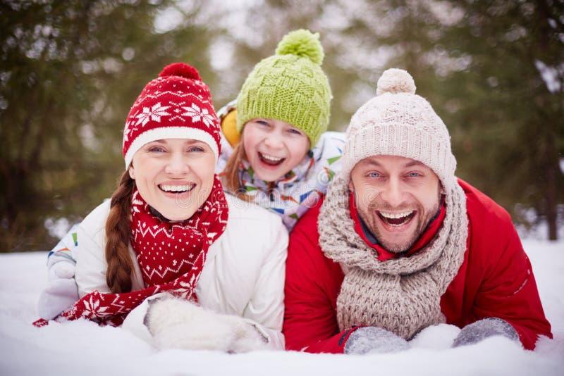 Vacaciones del invierno imagenes de archivo