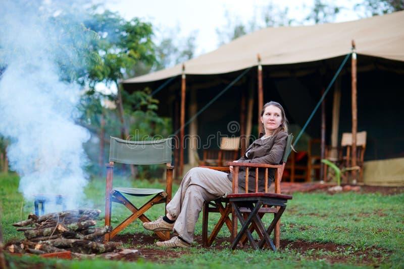 Vacaciones del safari foto de archivo