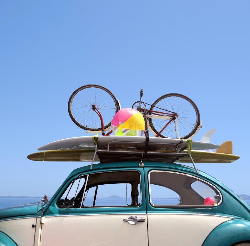 Vacaciones del viaje por carretera de las vacaciones de verano foto de archivo