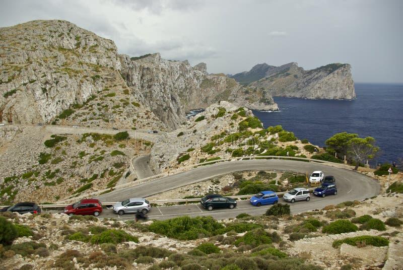 Vacaciones en España: Paisaje rocoso de Beautyful fotografía de archivo libre de regalías