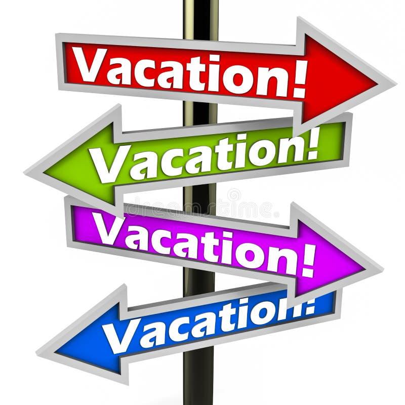 Vacaciones o días de fiesta ilustración del vector