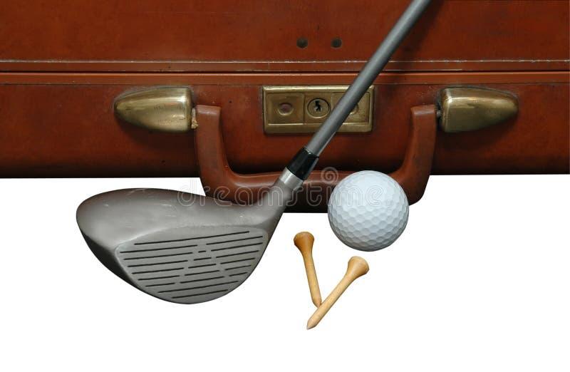 Vacances 2 de golf image libre de droits