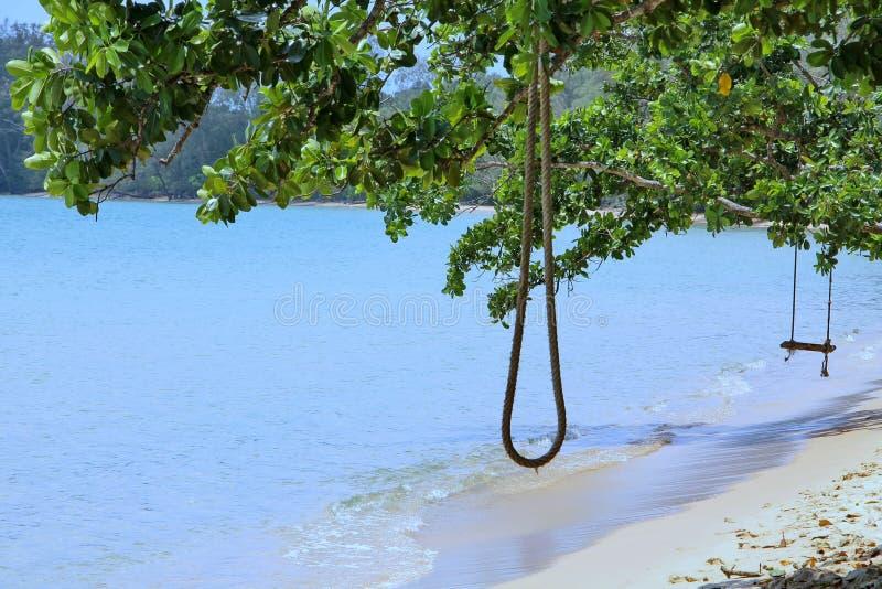 Vacances au Cambodge belle vue de la plage Monde impressionnant de voyage Repos d'été photo stock