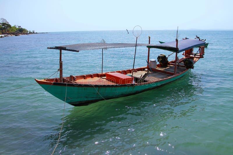 Vacances au Cambodge belle vue de la plage Monde impressionnant de voyage Repos d'été photo libre de droits