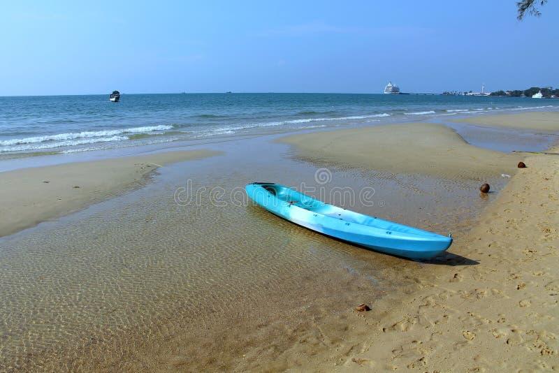 Vacances au Cambodge belle vue de la plage Monde impressionnant de voyage Repos d'été image libre de droits
