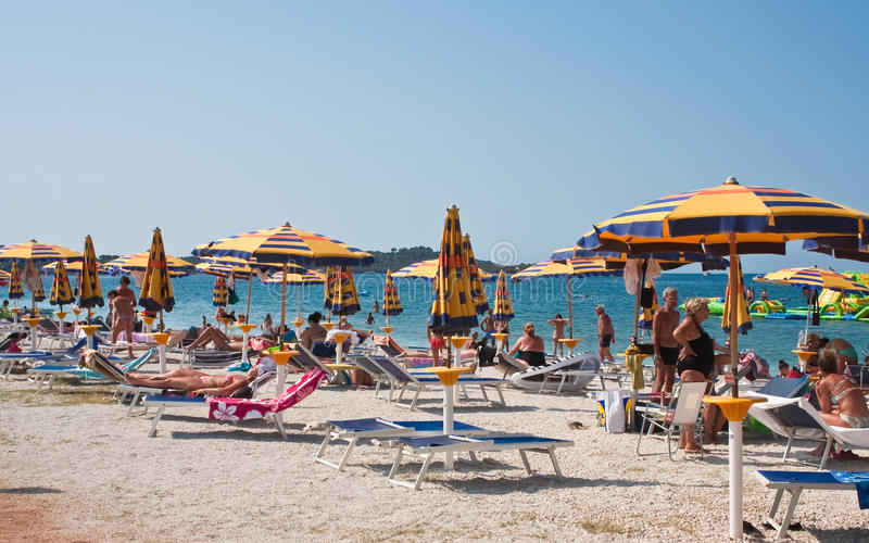 Vacances. Croatie photographie stock