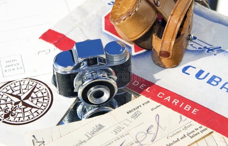 Vacances cubaines 1952 photographie stock