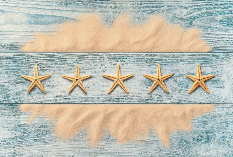 Vacances d'été, concept de service de cinq étoiles photos libres de droits