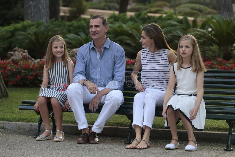 Vacances d'été de royals de l'Espagne 017 photographie stock