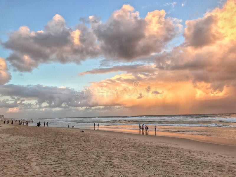 Vacances d'été de style d'Australie images libres de droits