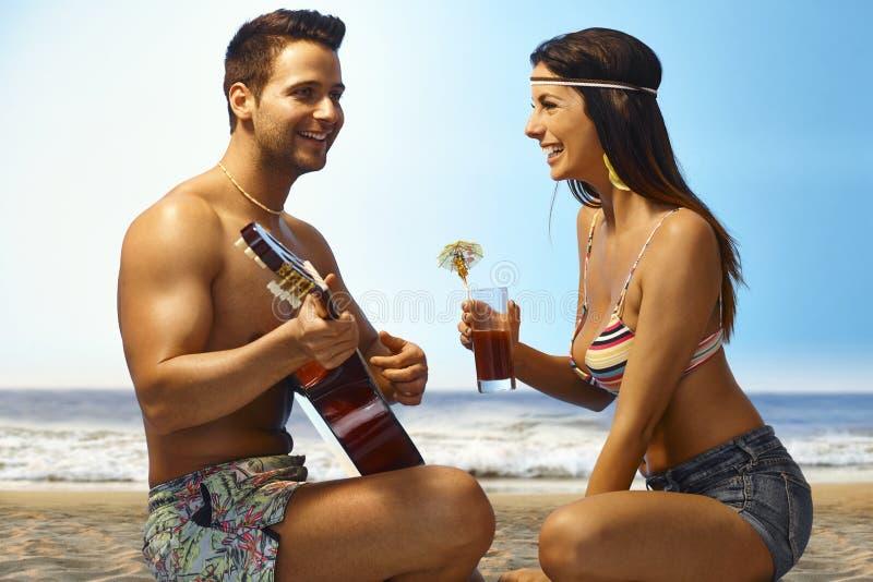 Vacances d'été romantiques image libre de droits