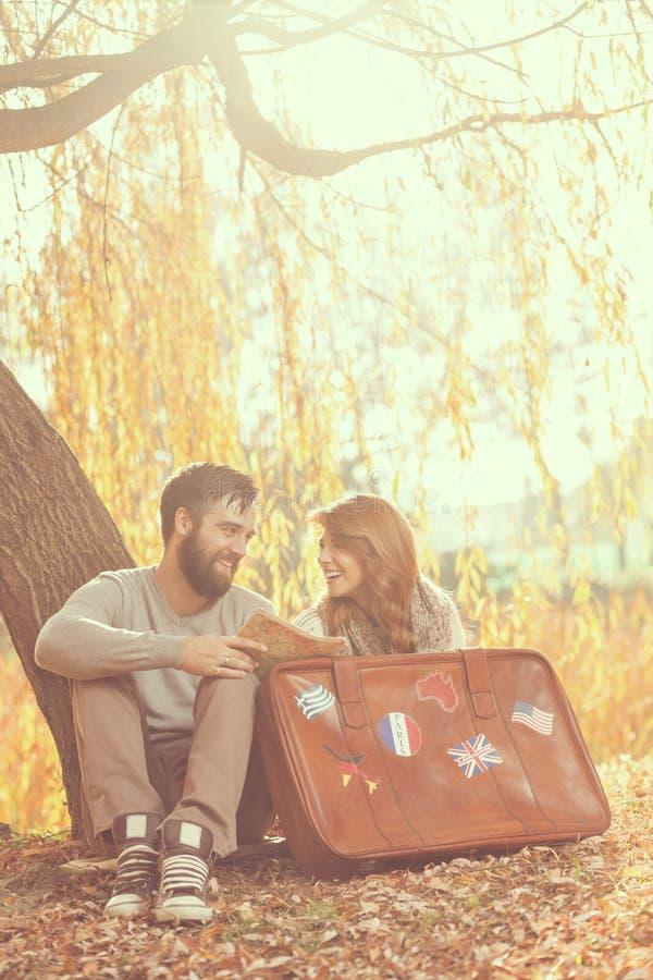 Vacances d'automne photographie stock libre de droits
