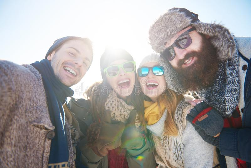 Vacances d'hiver photos libres de droits
