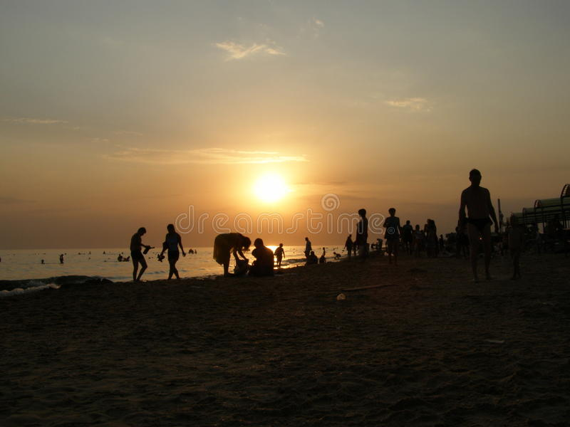 Vacances dans Anapa photographie stock