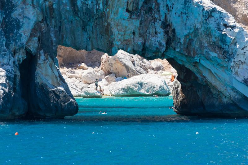 Vacances de Costa Smeralda photo stock