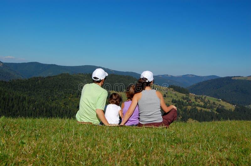 Vacances de famille photo libre de droits