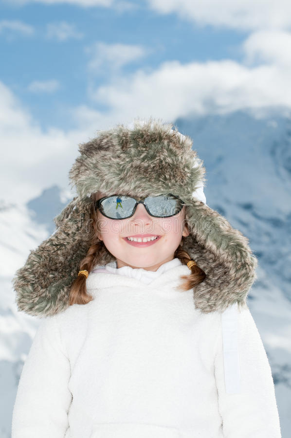 Vacances de l'hiver images libres de droits