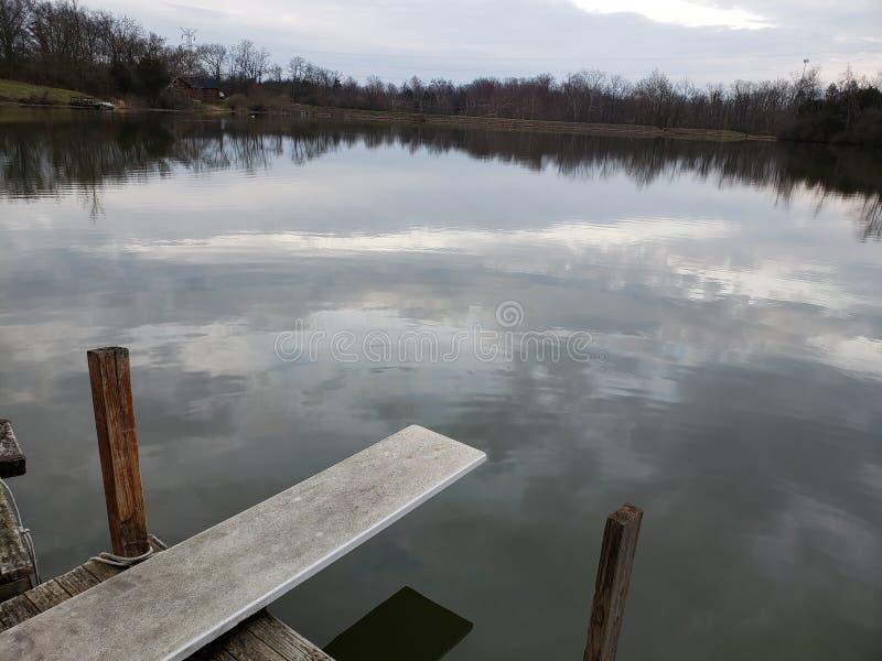 Vacances de Lakeside images stock