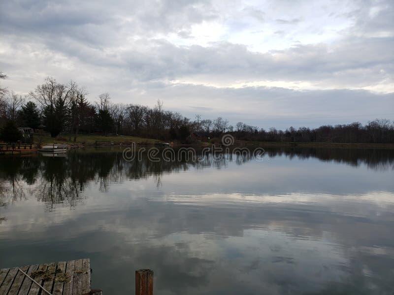 Vacances de Lakeside photos stock