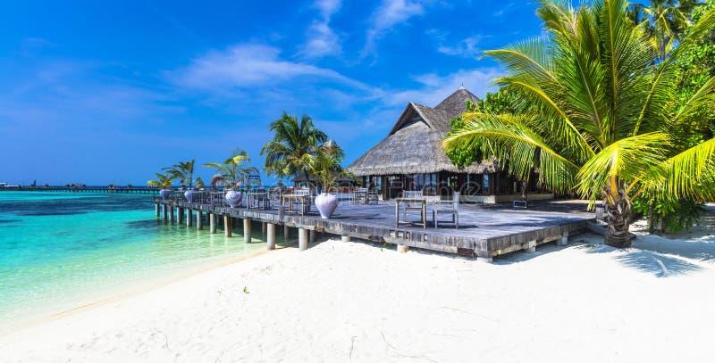 Vacances de luxe des Maldives photo stock