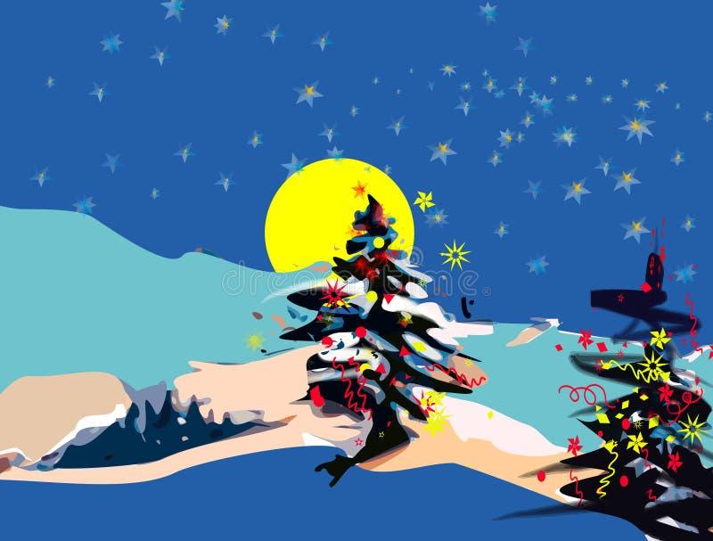 Vacances de Noël illustration libre de droits