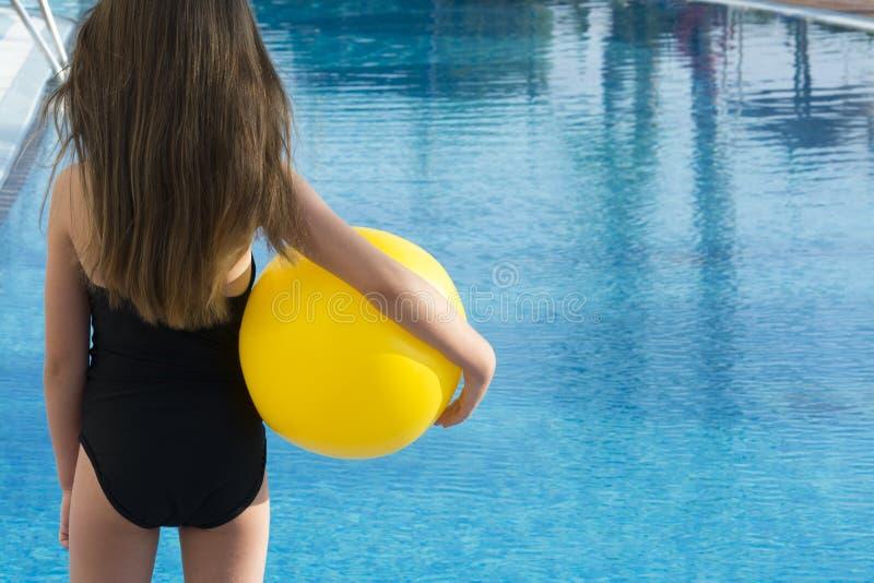 Vacances de piscine images libres de droits
