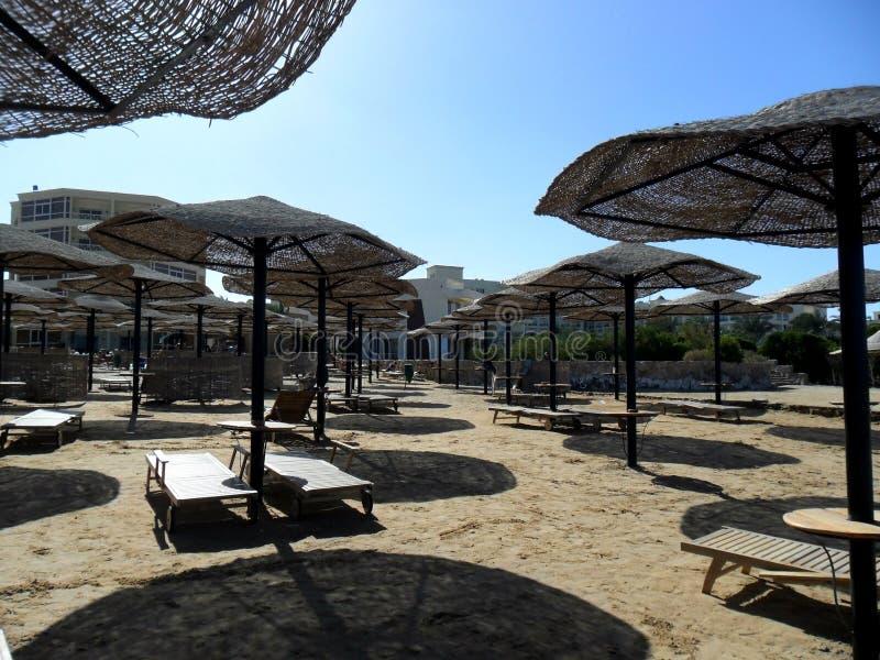 Vacances de plage en Grèce photo libre de droits