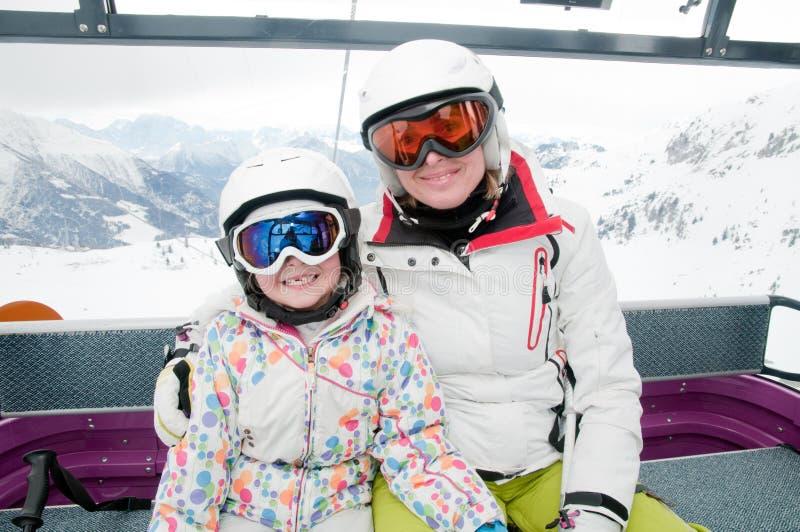 Vacances de ski photographie stock