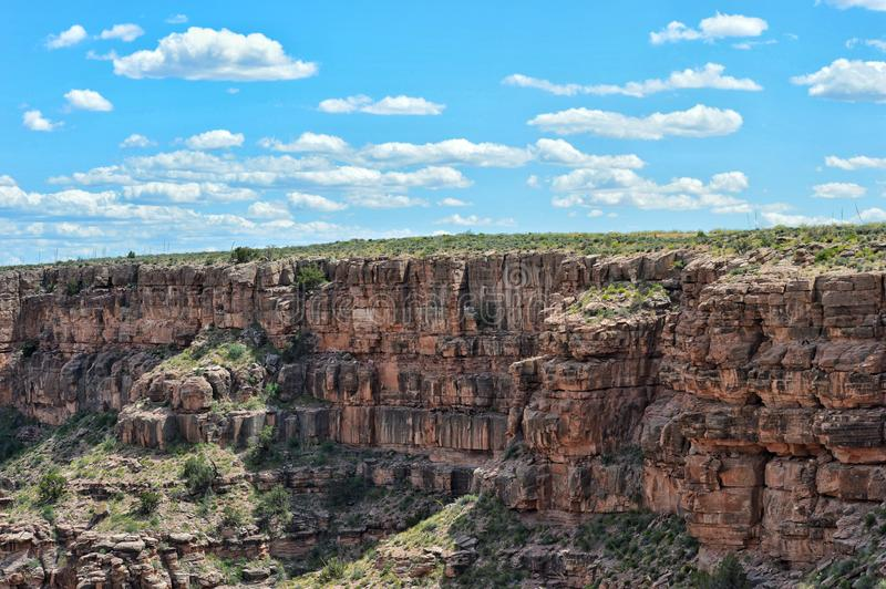 Vacances en canyon grand images stock